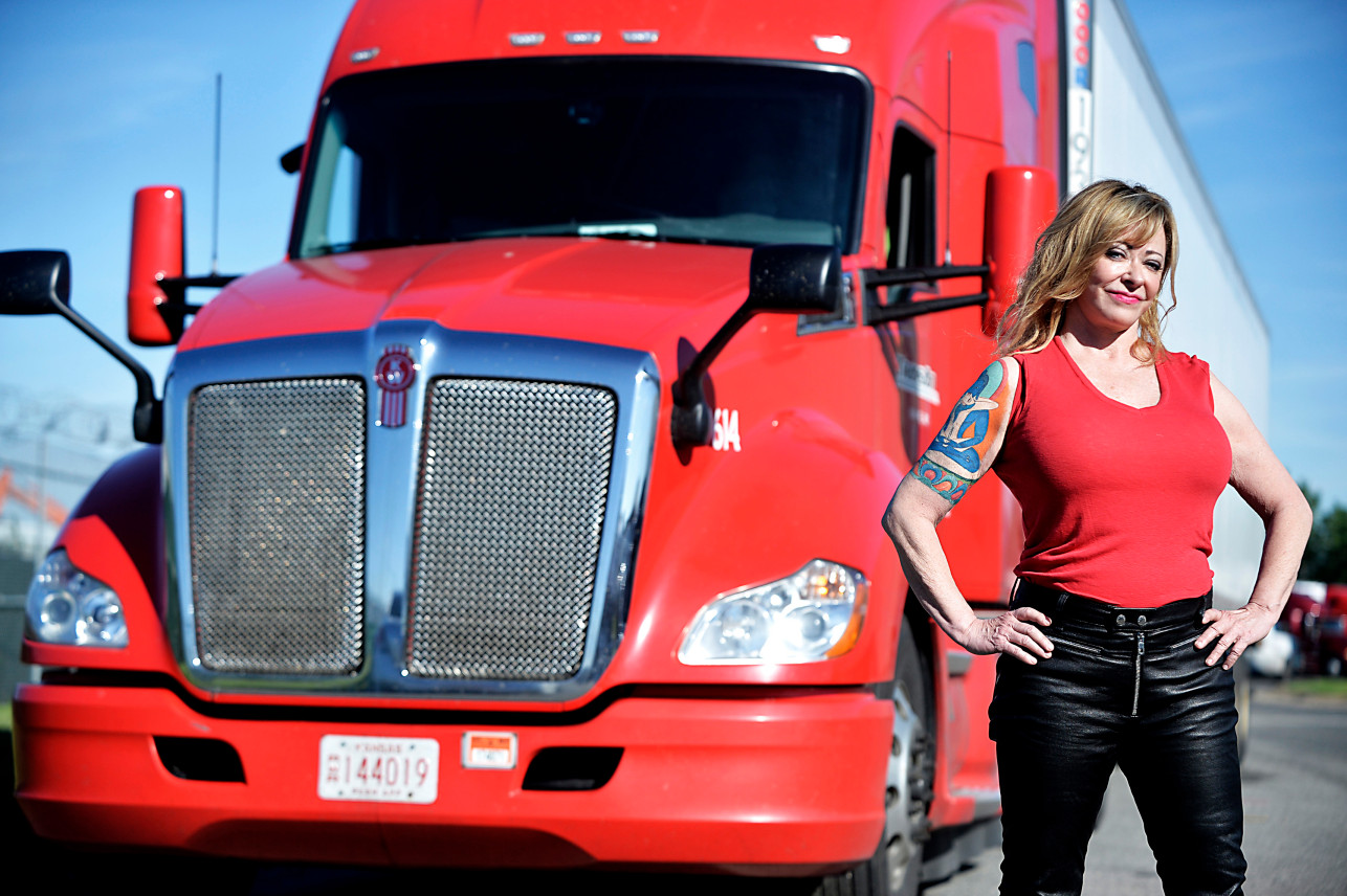 One truck at a time.  Truck Driver to Manhattan Socialite