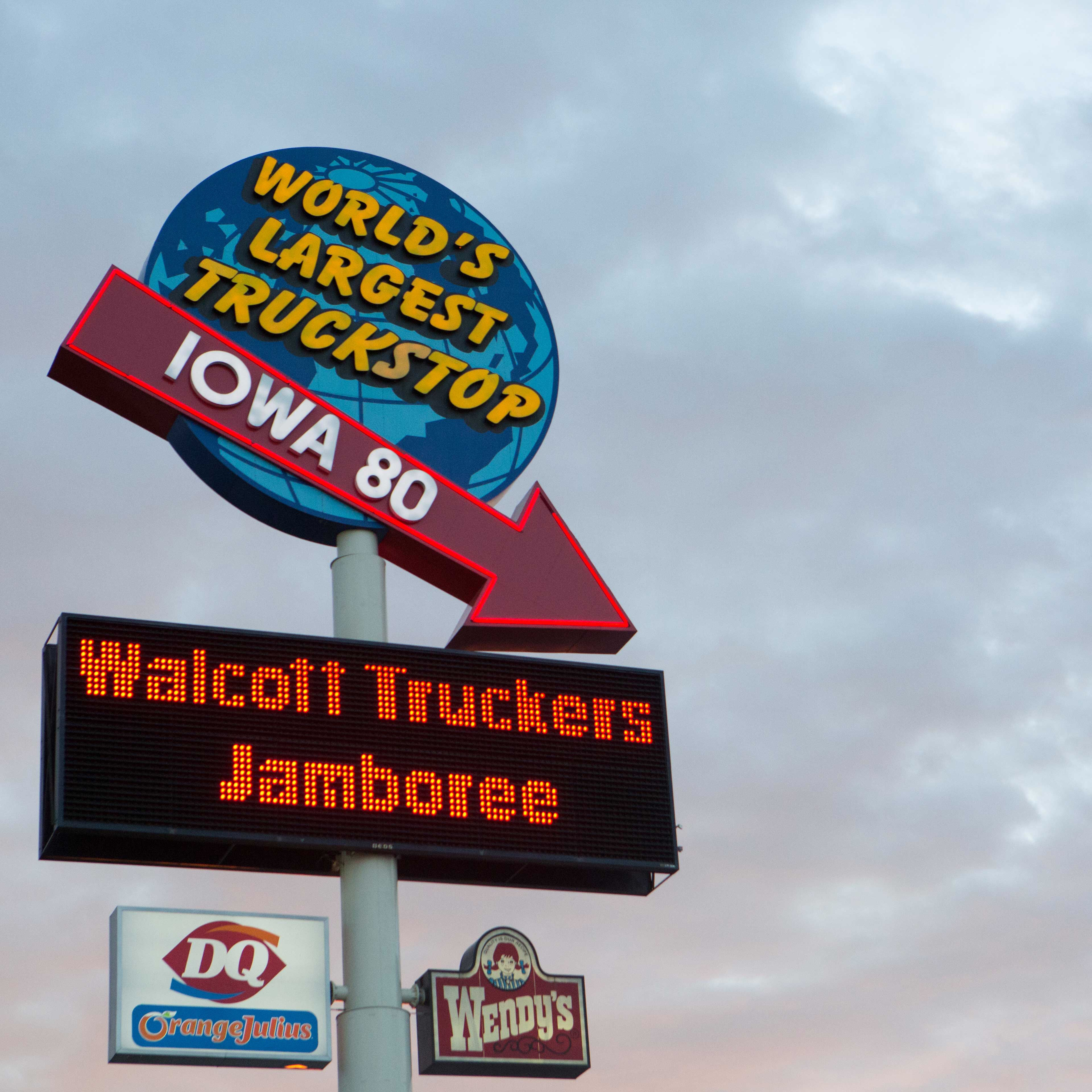 Near Iowa 80 Truck stop this week?  Head on over to the Truckers Jamboree!